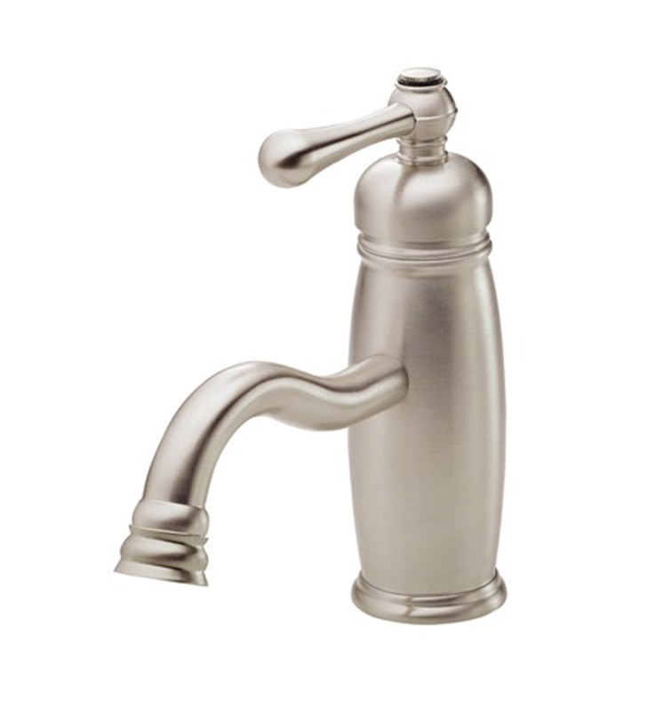 danze opulence single handle lavatory faucet in brushed nickel