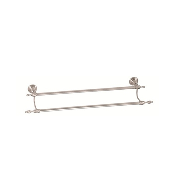 "Danze D446611BN Sheridan™ Double Towel Bar 24"" in Brushed Nickel"