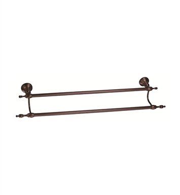 "Danze D446611RB Sheridan™ Double Towel Bar 24"" in Oil Rubbed Bronze"