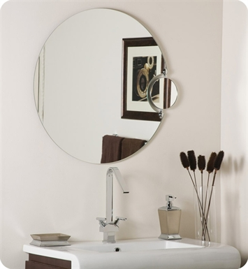 Decor Wonderland SSM100 Frameless Wall Mirror with Magnification
