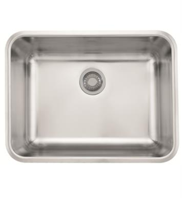 "Franke GDX11023 Grande 24 3/4"" Single Basin Undermount Stainless Steel Kitchen Sink"