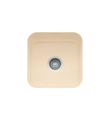 Franke CCK110-15BT Biscuit Single Basin Undermount Fireclay Bar Sink