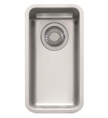 "Franke KBX110-8 Kubus 9 1/8"" Single Basin Undermount Stainless Steel Kitchen Sink"