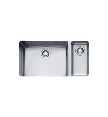 Franke KBX160 Kubus Double Basin Undermount Stainless Steel Kitchen ...