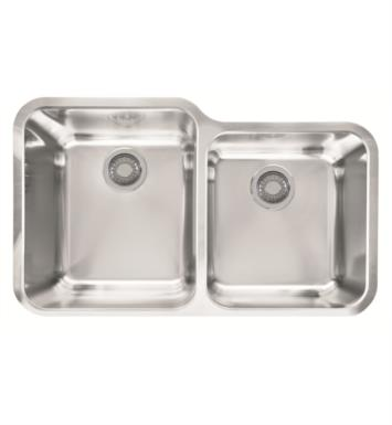 "Franke LAX16036 Largo 32 1/2"" Double Basin Undermount Stainless Steel Kitchen Sink"