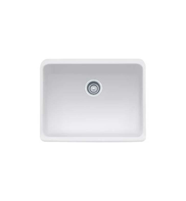 Franke MHK110 24MW Manor House Single Basin Farmhouse Fireclay Kitchen Sink i