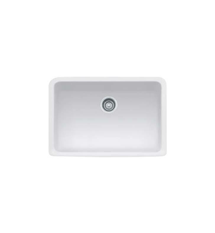 Franke MHK110 28MW Manor House Single Basin Farmhouse Fireclay Kitchen Sink i