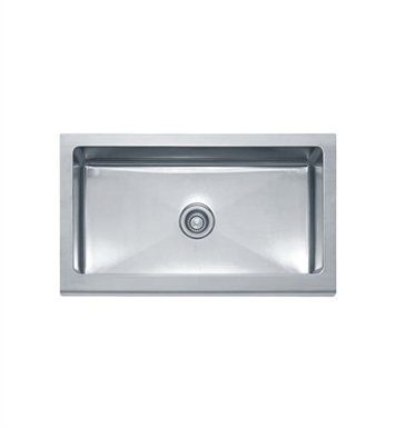 Franke MHX710-36 Manor House Single Basin Drop In Stainless Steel Kitchen Sink
