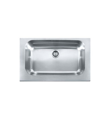 Franke MHX-OXX110 Manor House Single Basin Drop In Stainless Steel Kitchen Sink