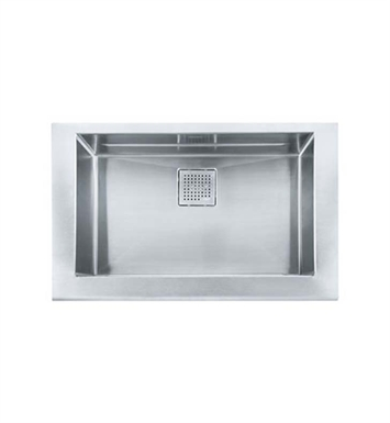 Franke MHX-PKX11028 Manor House Single Basin Drop In Stainless Steel Kitchen Sink