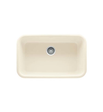 Franke OAK110LN Linen Oceania Single Basin Undermount Fireclay Kitchen Sink