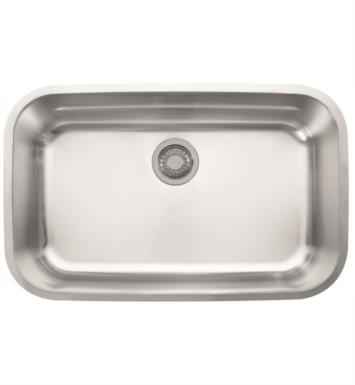 "Franke OXX110 Oceania 30"" Single Basin Undermount Stainless Steel Kitchen Sink with Ledge"