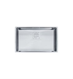 Franke PKX11028 Peak Single Basin Undermount Stainless Steel Kitchen Sink
