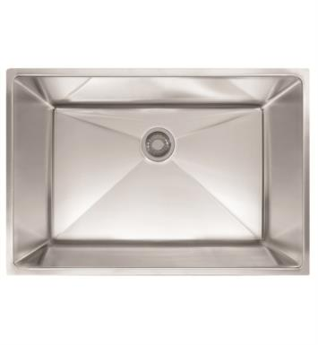 "Franke PEX110-28 Planar 8 29 1/2"" Single Basin Undermount Stainless Steel Kitchen Sink"