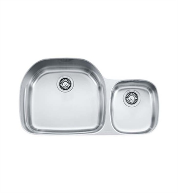 Franke PRX120 Prestige Double Basin Undermount Stainless Steel Kitchen Sink