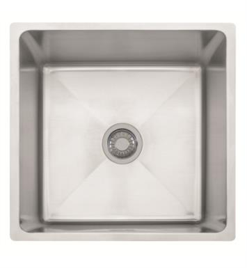 "Franke PSX110199 Professional 20 1/2"" Single Basin Undermount Stainless Steel Kitchen Sink"