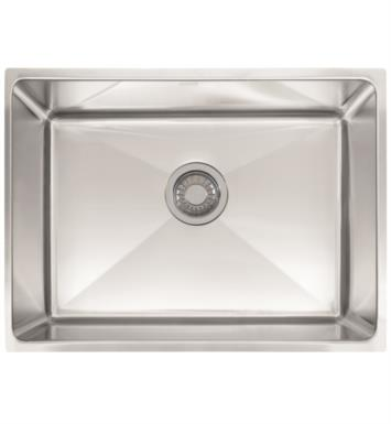 "Franke PSX1102412 Professional 25 1/2"" Single Basin Undermount Stainless Steel Kitchen Sink"