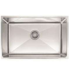 "Franke PSX1102710 Professional 28 3/4"" Single Basin Undermount Stainless Steel Kitchen Sink"