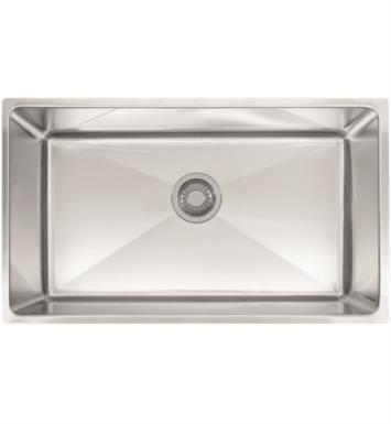 "Franke PSX1103010 Professional 31 1/2"" Single Basin Undermount Stainless Steel Kitchen Sink"
