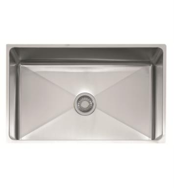 "Franke PSX1103012 Professional 31 1/2"" Single Basin Undermount Stainless Steel Kitchen Sink"