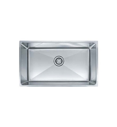 Franke PSX110309 Professional Single Basin Undermount Stainless Steel Kitchen Sink
