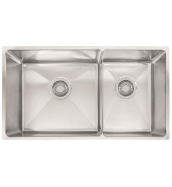"Franke PSX120309 Professional 31 3/8"" Double Basin Undermount Stainless Steel Kitchen Sink"