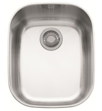"Franke RGX110 Regatta 16 3/8"" Single Basin Undermount Stainless Steel Kitchen Sink"