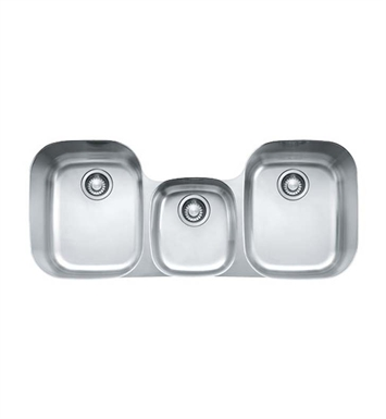 Franke RGX170 Regatta Triple Basin Undermount Stainless Steel Kitchen Sink