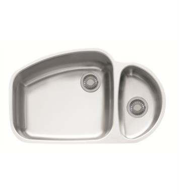 "Franke VNX160 Vision 33 1/4"" Double Basin Undermount Stainless Steel Kitchen Sink"