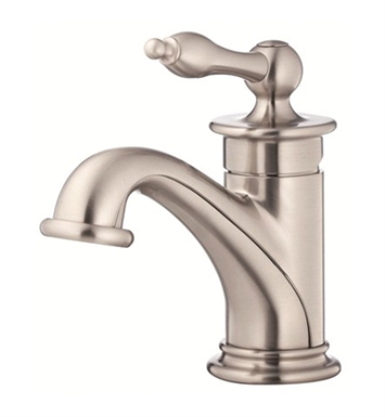 Danze Prince™ Single Handle Lavatory Faucet in Brushed Nickel