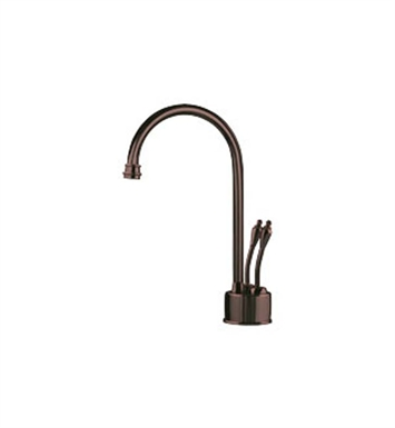 Franke LB6260 Hot and Cold Water Dispenser Faucet with Metal Lever Handles in Old World Bronze