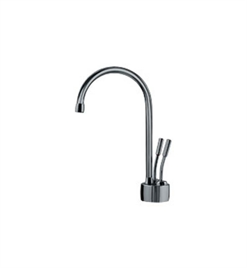 Franke LB7270 Little Butler Hot and Cold Water Dispenser Faucet with Metal Lever Handles in Polished Nickel