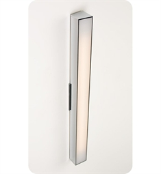 "Ayre Axis 24"" Linear ADA Wall Sconce Light with Matte Opal Acrylic Diffuser"