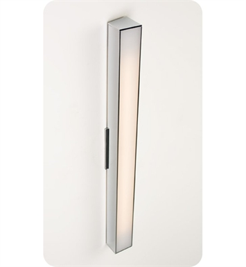 "Ayre AXIS24-A-MA-CH-LED Axis 24"" Linear ADA Wall Sconce Light with Matte Opal Acrylic Diffuser With Finish: Polished Chrome And Lamping Type: LED"