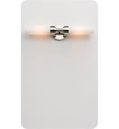 Ayre Circ Duo R Wall Sconce ADA Light with Shiny Opal Glass Diffuser