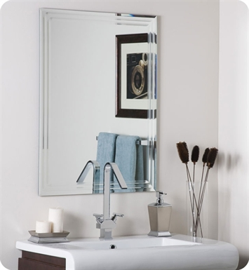 Decor Wonderland Andaya Frameless Wall Mirror