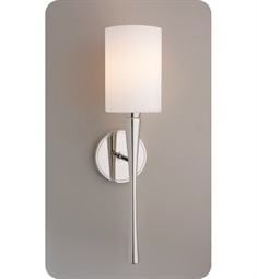 Ayre Euro EUR3 Wall Sconce Light with Cased Matte Opal Glass Diffuser