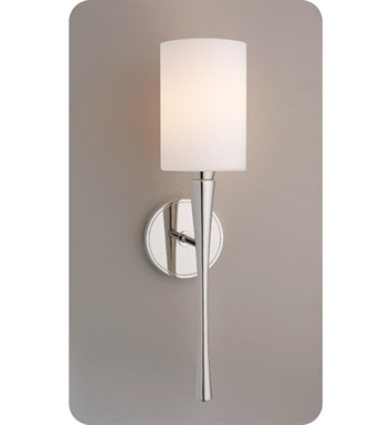 Ayre EUR3-S-CM-CH-INC Euro Wall Sconce Light with Cased Matte Opal Glass Diffuser With Finish: Polished Chrome And Lamping Type: Incandescent