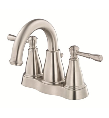 Danze D301015BN Eastham™ Two Handle Centerset Lavatory Faucet in Brushed Nickel