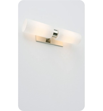 Ayre LUXD-A-SO-BN-INC Luxe Duo ADA Wall Sconce Light With Finish: Brushed Nickel And Lamping Type: Incandescent