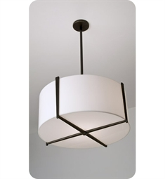 "Ayre Lyric 24"" Pendant Light with Shiny Opal Acrylic Diffuser"