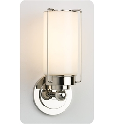 Ayre Park Wall Sconce Light with Cased Shiny Opal Diffuser