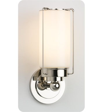 Ayre PAR1-S-CS-PN-LED Park Wall Sconce Light with Cased Shiny Opal Diffuser With Finish: Polished Nickel And Lamping Type: LED