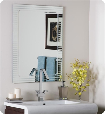 Decor Wonderland SSM1125 The Lines Frameless Wall Mirror