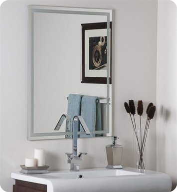 Decor Wonderland Houston Modern Frameless Mirror