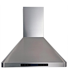 "Cavaliere-Euro AP238-PS29-30 30"" Stainless Steel Wall Mounted Range Hood"