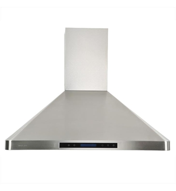 "Cavaliere-Euro AP238-PS31-36 36"" Stainless Steel Wall Mounted Range Hood"