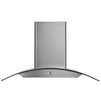 "Cavaliere AP238-PSD-42 42"" Stainless Steel & Glass Wall Mounted Range Hood"