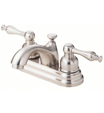 Danze D301055BN Sheridan™ Two Handle Centerset Lavatory Faucet in Brushed Nickel