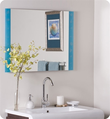 Decor Wonderland SSM173 The Spa Frameless Bathroom Mirror